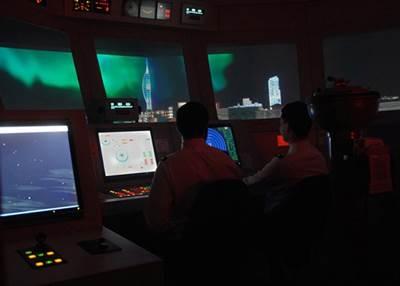 RN College Dartmouth Simulator: Photo credit MOD