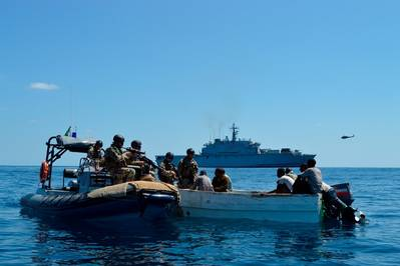 Pirate Suspects Captured: Photo credit EUNAVFOR