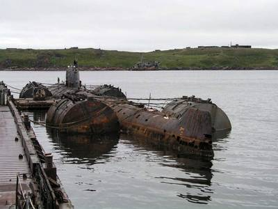 November-class Russian Submarine: Photo credit The Bellona Foundation CCL