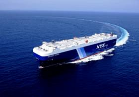 Pure car and truck carrier delivered by MHI to NYK Line