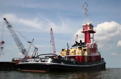 VT Halter delivered an ATB for Bouchard Transportation.
