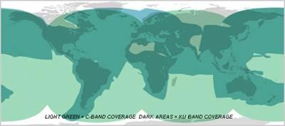 Mini VSAT coverage