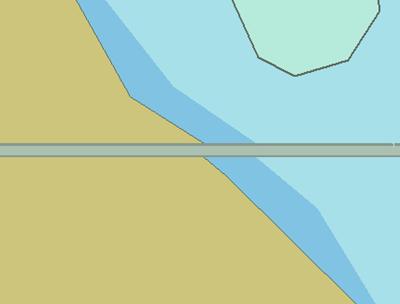 Significant Gap between bodering cells.