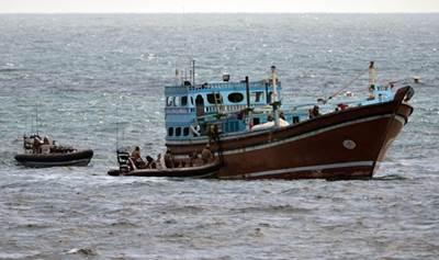 Boarding Operation: Photo credit MOD