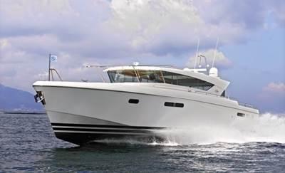 Delta 80 IPS: Photo credit Delta Powerboats