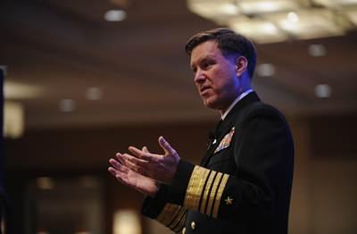 Adm. Mark E. Ferguson, Vice Chief of Naval Operations: Photo credit USN