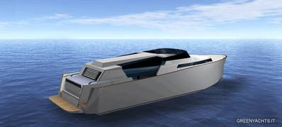 Limousine Yacht Tender: Photo courtesy of Green Yachts