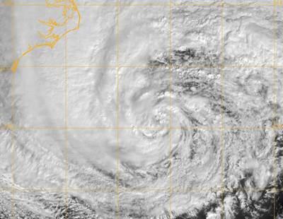 Hurricane 'Sandy': Image credit NOAA