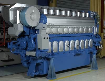 Wärtsilä 20 engine.