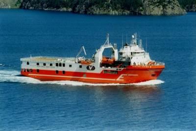 Seismic Survey Ship Viking ll: Photo courtesy Eidesvik