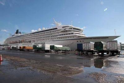 Cruise Shiip Asuka ll: Photo credit NYK
