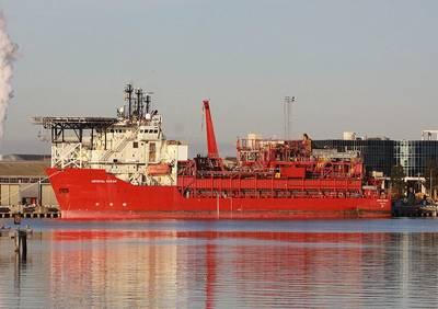 An FPSO Vessel: Photo credit CCL Marcus Wong