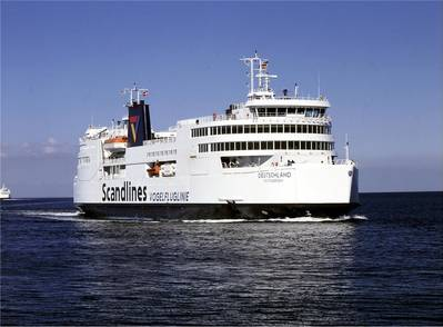 Scandline Ferry: Photo credit Scandline