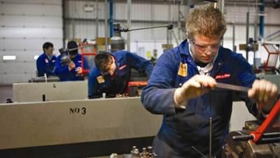 Apprentice Training: Photo credit BAE