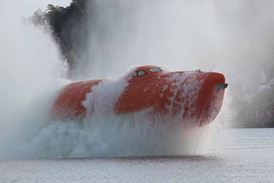 GES50 MKIII freefall lifeboat: Photo credit Norsafe