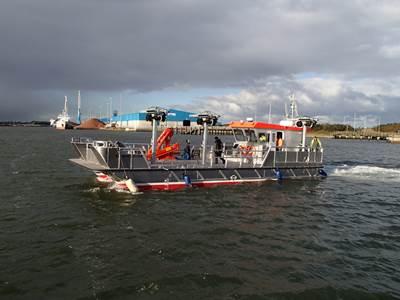 Eileen Louise during Sea Trials