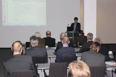 Dr Christian Cabos, from GL's Department of Research and Rule Develoment, gave a detailed survey of lifecycle management in shipping and the use of ship models to improve communication.