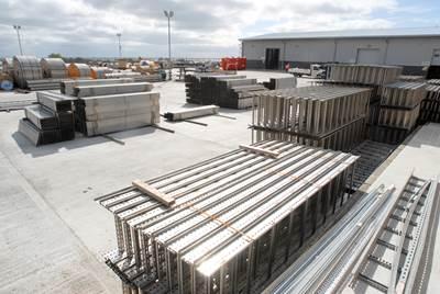 Maclean Electrical Group's yard in Aberdeen