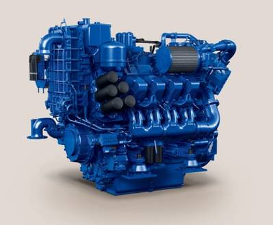MTU Series 4000 Engine: Photo credit Tognum