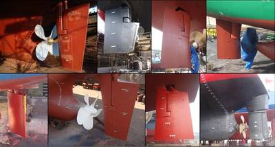 Rudders: Image credit Ecospeed