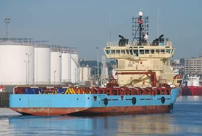 'Maersk Fetcher': Photo credit Solasolv