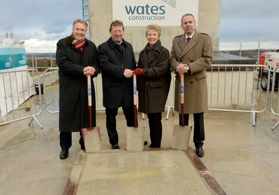 Southampton University/LR Topping Out Ceremony