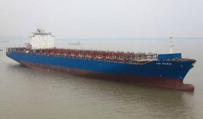 Rongsheng's First Container Ship: Photo credit Rongsheng
