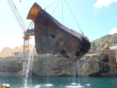 TITAN's successful salvage of the Tycoon off Christmas Island, Australia