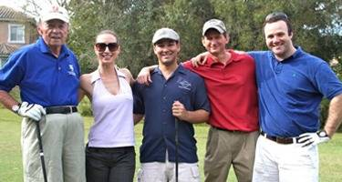 Heidmar Golfers: Photo credit Heidmar Blue & Gray