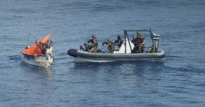 Boarding Party & Pirate Skiff: Photo credit EU NAVFOR