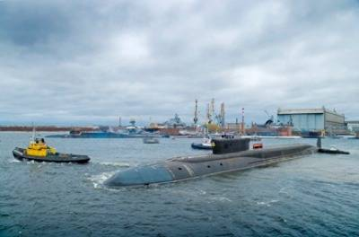 Russian Sub 'Alexander Nevsky': Photo credit Sevmash Shipyard