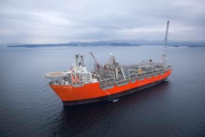 Photo of BP Norge's Skarv FPSO - courtesy of BP Norge