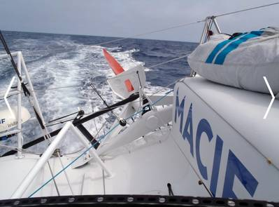Yacht 'Macif': Photo credit Vendée Globe