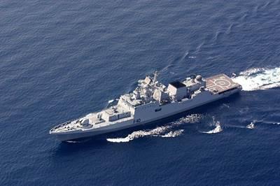 INS Talwar-class Frigate: Photo credit Wiki CCL