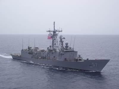 USS Reuben James: Photo credit USN