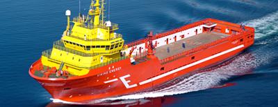 PSV 'Viking Energy': Photo credit  Eidesvik