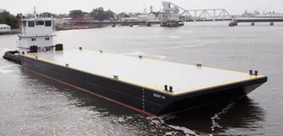 new-build 140' x 40' deck barge, SIGNET 141