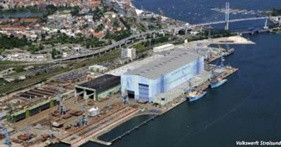 Volkswerft Stralsund Yard: Photo credit P+S Werften