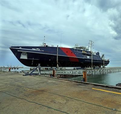 Cape-class Patrol Boat: Photo credit Austal
