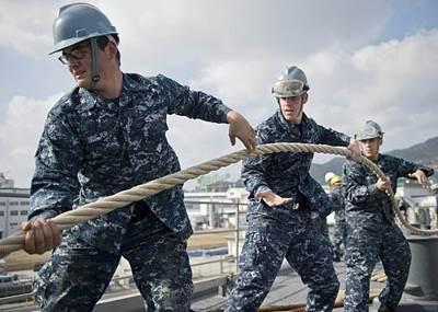 Departure Stations USS Tortuga: Photo credit USN