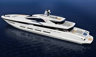 Heesen 58m Superyacht: Photo credit Francesco Paszkowsk.