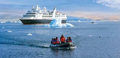 Cruise Ship 'Silver Explorer': Photo courtesy of Silversea Cruises