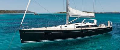 Salboat Sense 55: Photo credit Beneteau