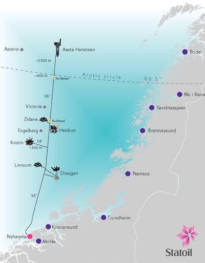 Polarled Pipeline Project: Image courtesy of Ramboll