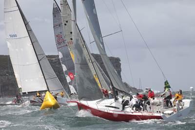 Sydney-Hobart Race: Photo credit Rolex/Daniel Forster