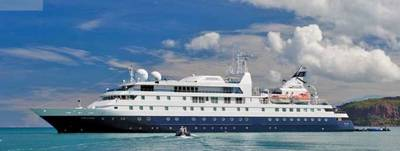 Cruise Ship 'Orion': Photo courtesy of Orion Expedition Cruises