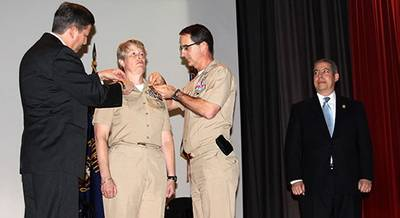 Commissioning Ceremony: Photo credit US MMA