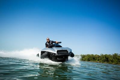 Quadski: Photo credit Gibbs