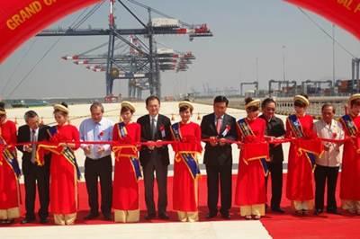Vietnam Port Inauguration: Photo credit Vietnam Government