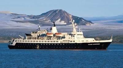Cruise Ship 'Lyubov Orlova': Photo credit Wikimedia CCL